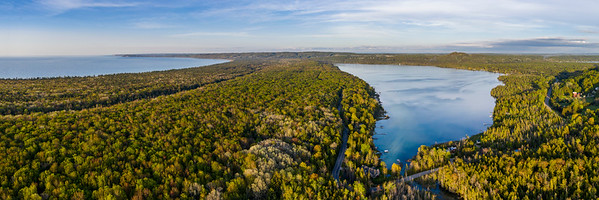 Litte Traverse Lake Panorama