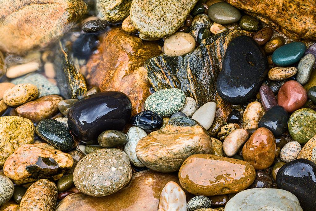 Rock Collection, Salmon River, Idaho
