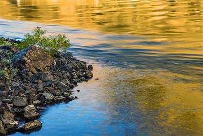 Morning Reflection within Hells Canyon, Idaho
