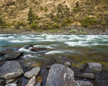 Salmon River Rapid, Idaho.