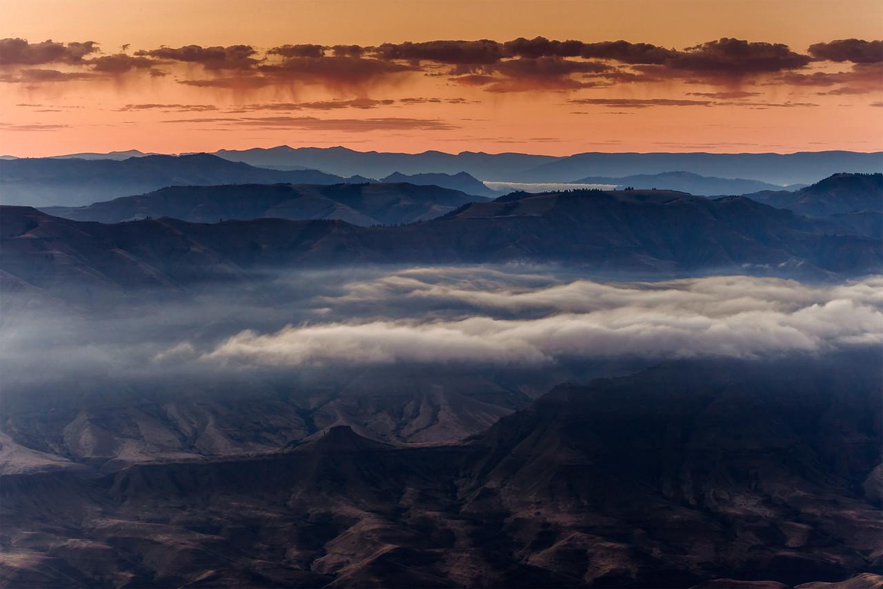 Buckhorn Overlook Dawn, Oregon