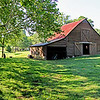 Red Barn Panorama, near Chattanooga, TN.