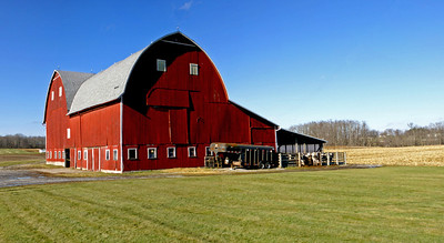 Handsome Red Barn.  Columbiana County, OH.