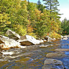 Swift River in the Fall. Kancamagus Highway, White Mountain Nat'l Forest, New Hampshire.