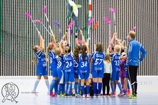 Sarpsborg Sharks jenter 12 - Holmlia, 24.9.17