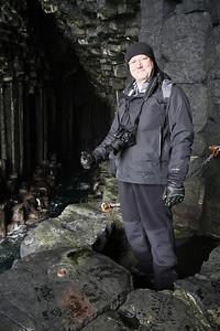 Fingal's Cave, Staffa 12/04/2012  © Marta Franco Popovics