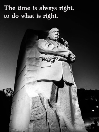 """""""Martin Luther King Jr"""" Ian Bailey Photography: Print for home or office starting at $5.00 Dollars"""