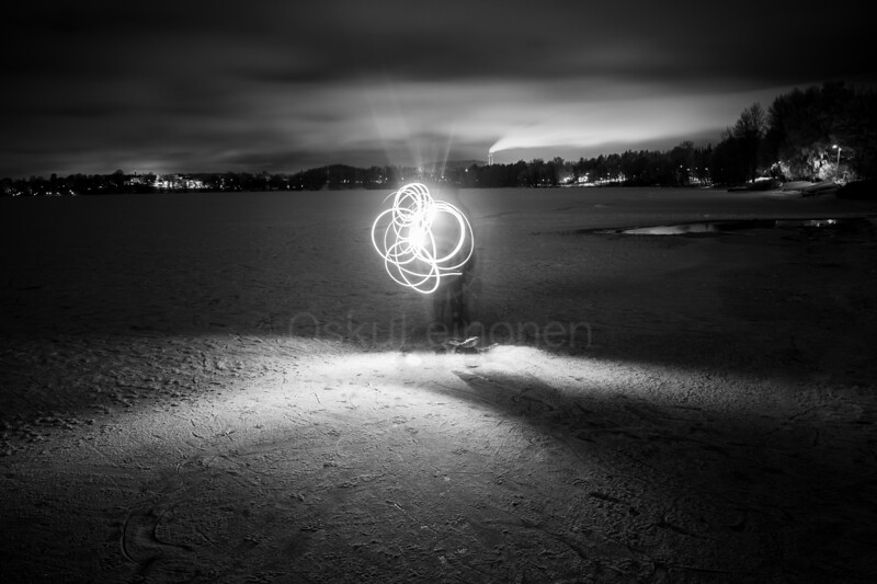 Joys Of Winter II (Light Traces)