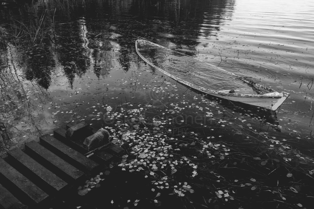 Weathered Rowing Boat III