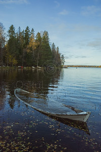 Weathered Rowing Boat IV