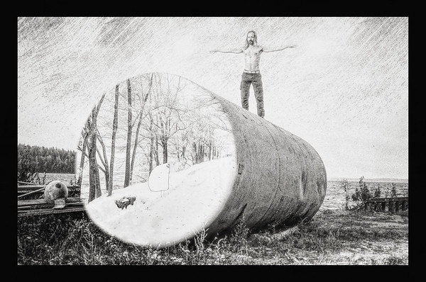 Balancing on the Top Of the Alternative World BW