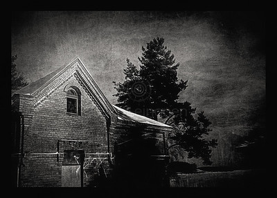 Abandoned House II BW