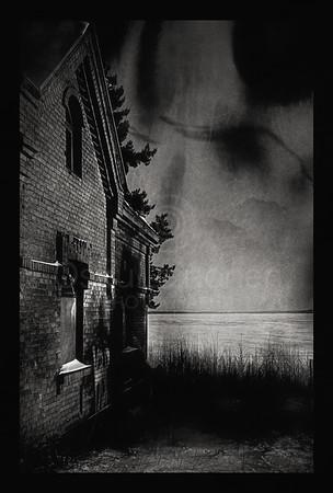 Abandoned House I BW