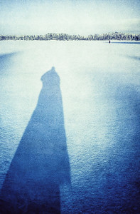 Shadow on Lake (Longing for Someone to come)