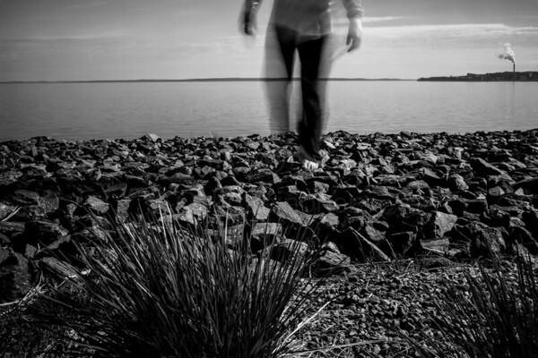 Stepping Forward III (Rocky Beach)