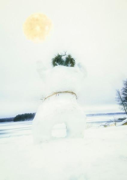Snowman is Sinking Qi