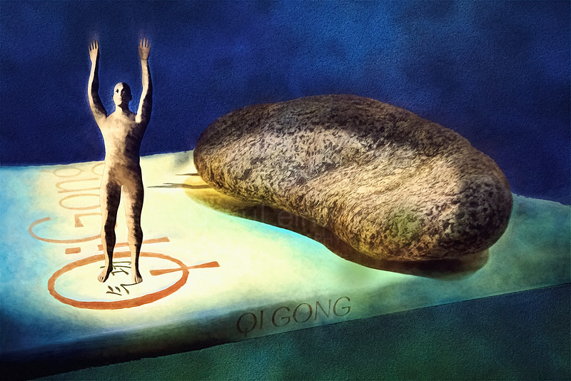 Qigong, a Book and a Stone
