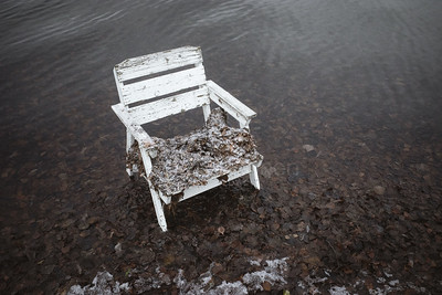 Spirit Of the Winter Lake IV (Garden Chair)