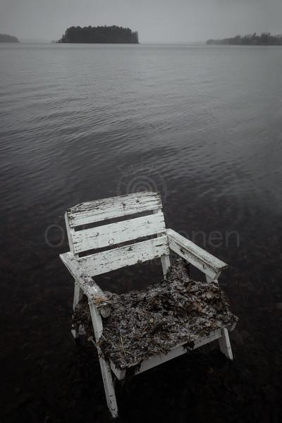 Spirit Of the Winter Lake II (Garden Chair)
