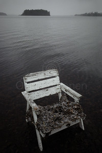 Spirit Of the Winter Lake II (Garden Chair)