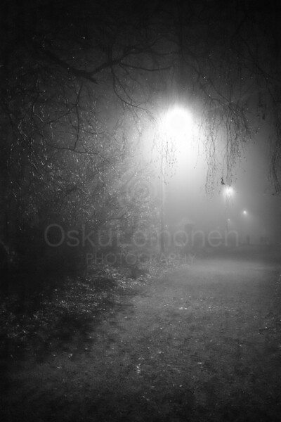 Night Walk At Pispala X (Lights)