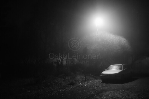 Night Walk At Pispala I (Car)