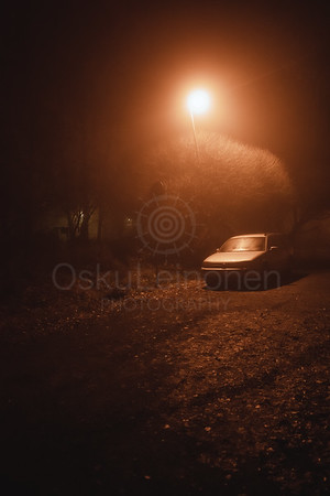 Night Walk At Pispala IX (Car)