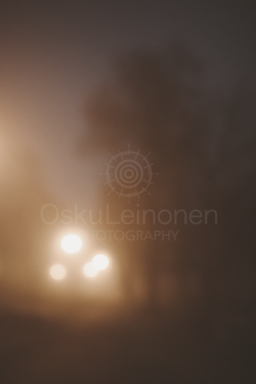 Night Walk At Pispala VI (Lights)