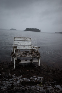 Spirit Of the Winter Lake VI (Garden Chair)