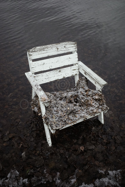 Spirit Of the Winter Lake III (Garden Chair)
