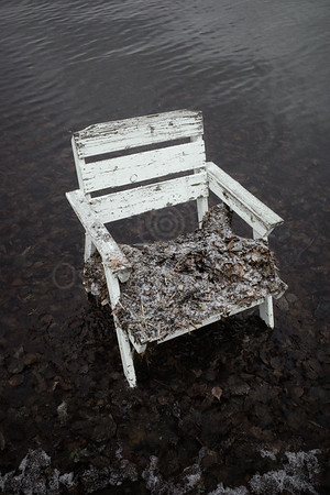 Spirit Of the Winter Lake III (Garden Chair)
