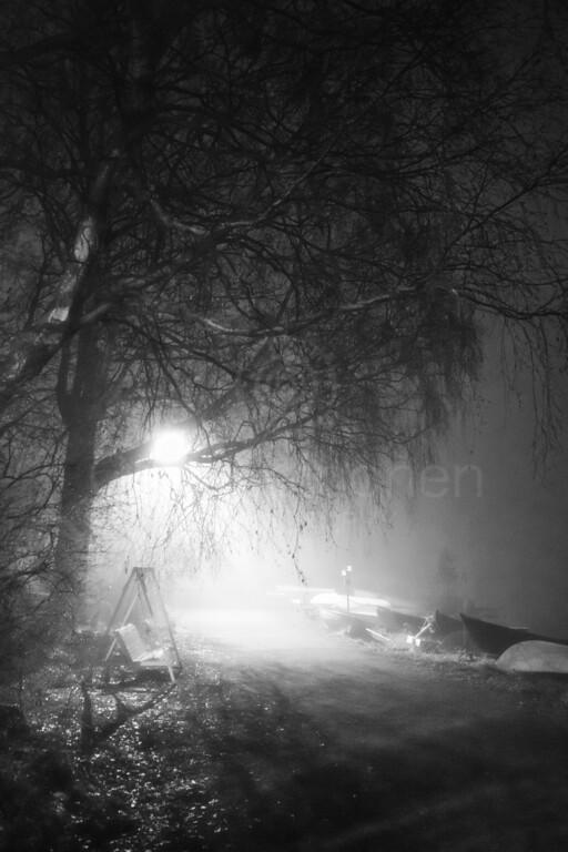 Night Walk At Pispala VIII (Rowing Boats)