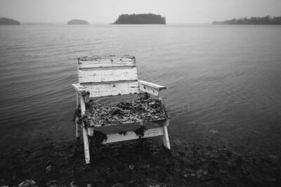 Spirit Of the Winter Lake VII (Garden Chair)