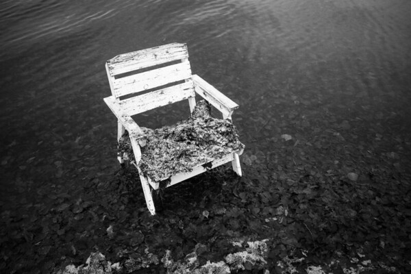 Spirit Of the Winter Lake VIII (Garden Chair)