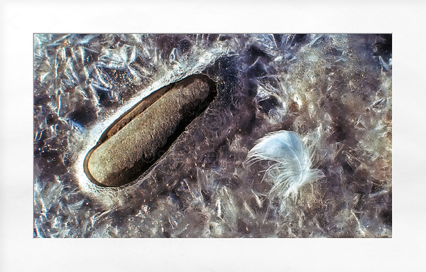 Rock Ice And Feather
