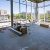 Third-floor Beaty Water Research Centre space looking out toward Union and Division Sts.