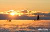 Cold dawn at Whaleback Light