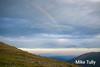 Rainbow over Mount Adams.