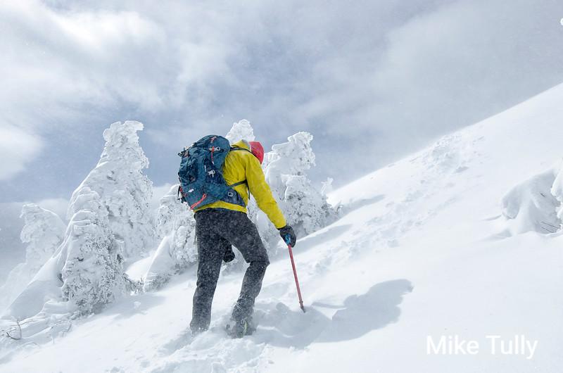 High winds on Mount  Monadnock