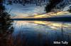 Piper Pond sunset - Abbot, Maine