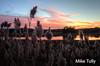 Sunset on salt marsh - Essex, Massachusets