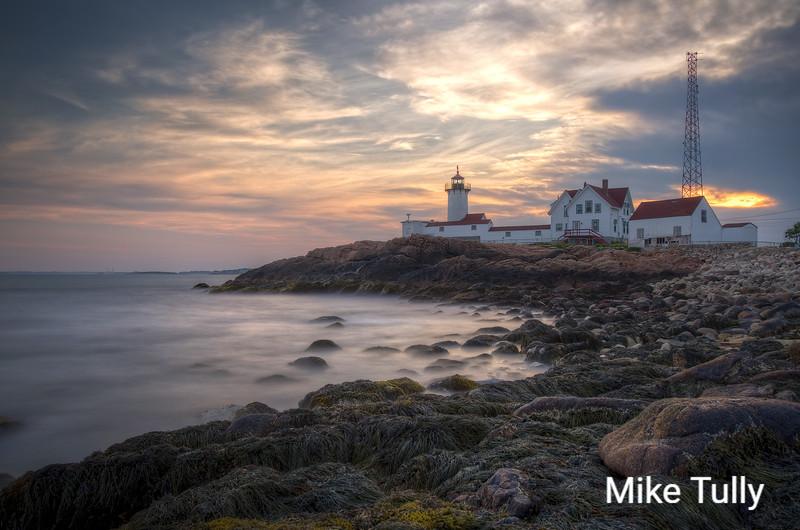 Eastern Point Light in Gloucester, Massachusetts