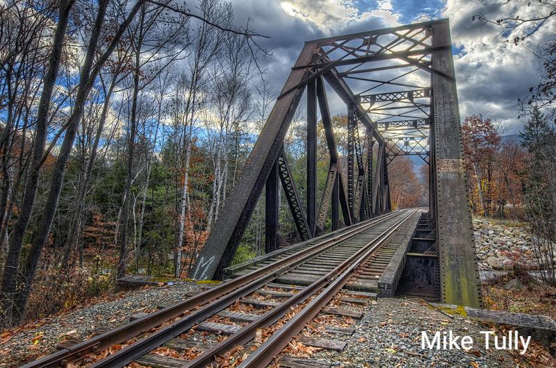 Bridge over the Saco River, Hart's Location, New Hampshire
