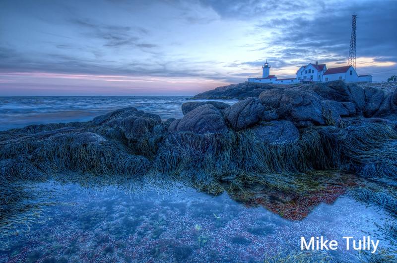 Blue hour at Eastern Point - Gloucester, Massachusetts