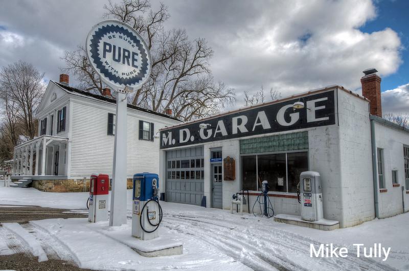 M.D. Garage - Stuck in time, Peninsula, Ohio