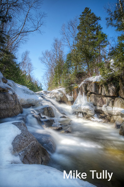 Decker Falls on Thorn Brook - Piscataquis County, Maine