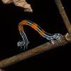Chenille de Geometridae, Larva de Geometridae <br /> 2599, Rancho Naturalista, Costa Rica, 14 mars 2015