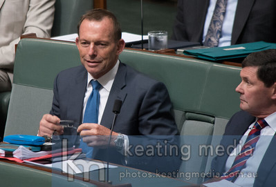 Tony Abbott in the House of Representatives