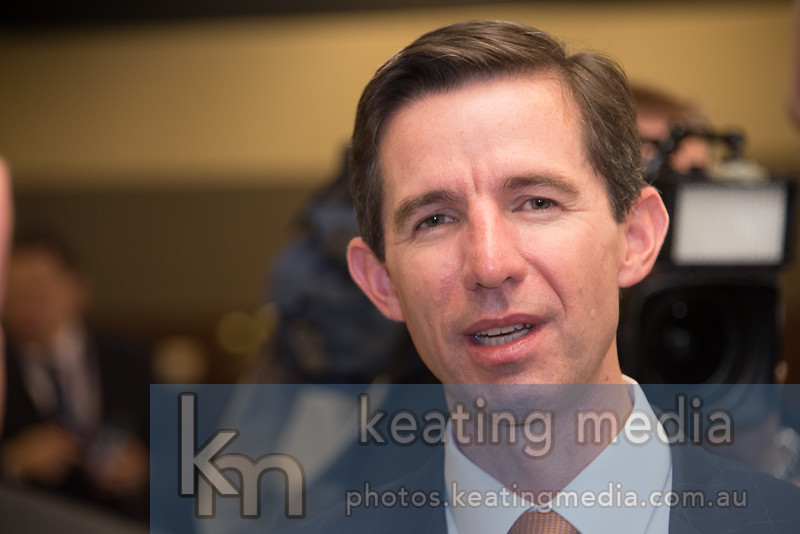Senator Simon Birmingham at the NPC 4 May 2017