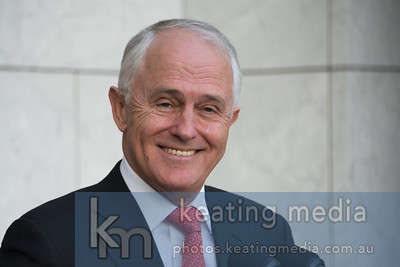 Prime Minister Malcolm Turnbull during a Parliament House Press Conference